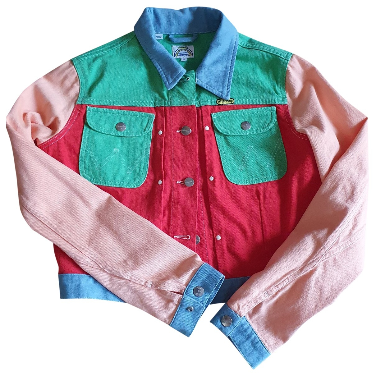Wrangler - Veste   pour femme en denim - multicolore