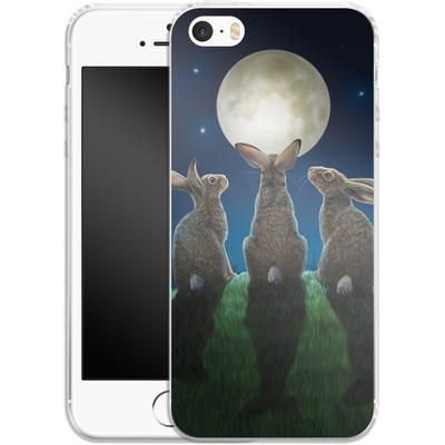 Apple iPhone 5 Silikon Handyhuelle - Moonshadows von Lisa Parker