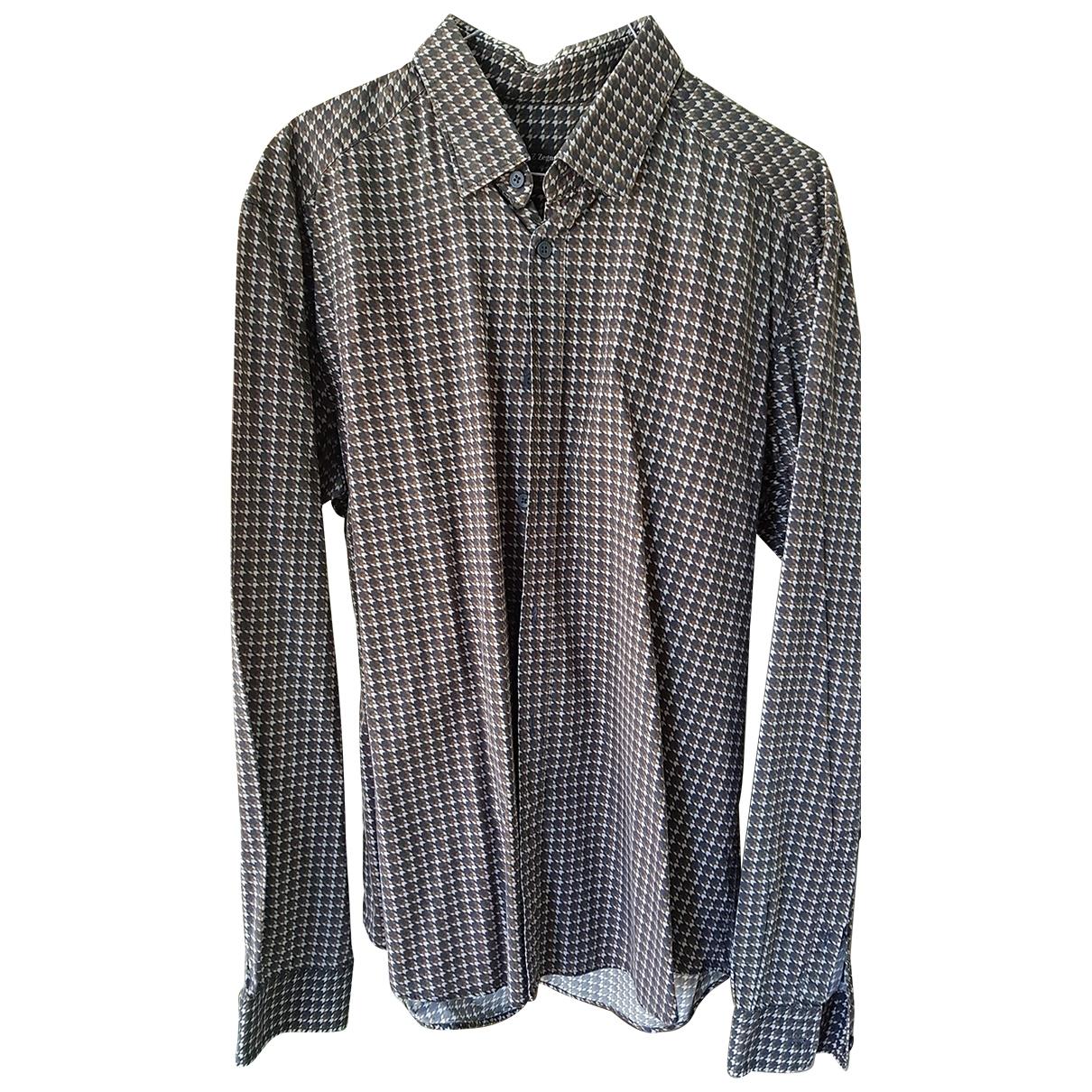 Z Zegna \N Hemden in  Braun Baumwolle