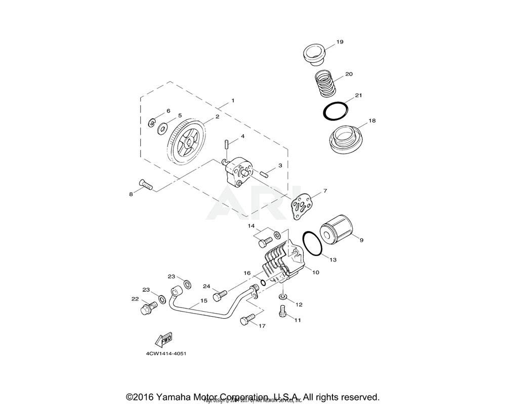 Yamaha OEM 93210-08800-00 O-RING