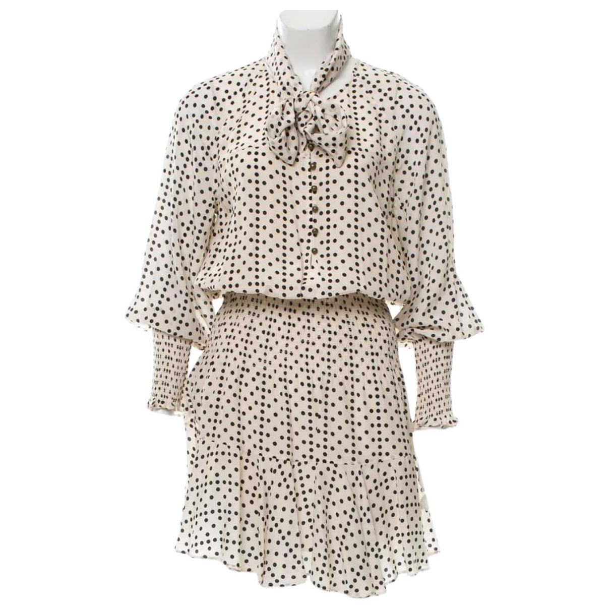 Mini vestido de Seda Figue