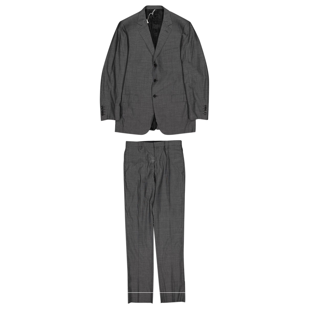 Dior \N Grey Wool Suits for Men 50 FR
