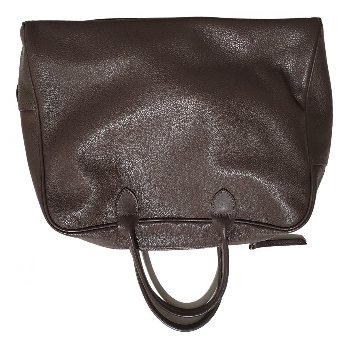 Longchamp \N Leather handbag for Women \N
