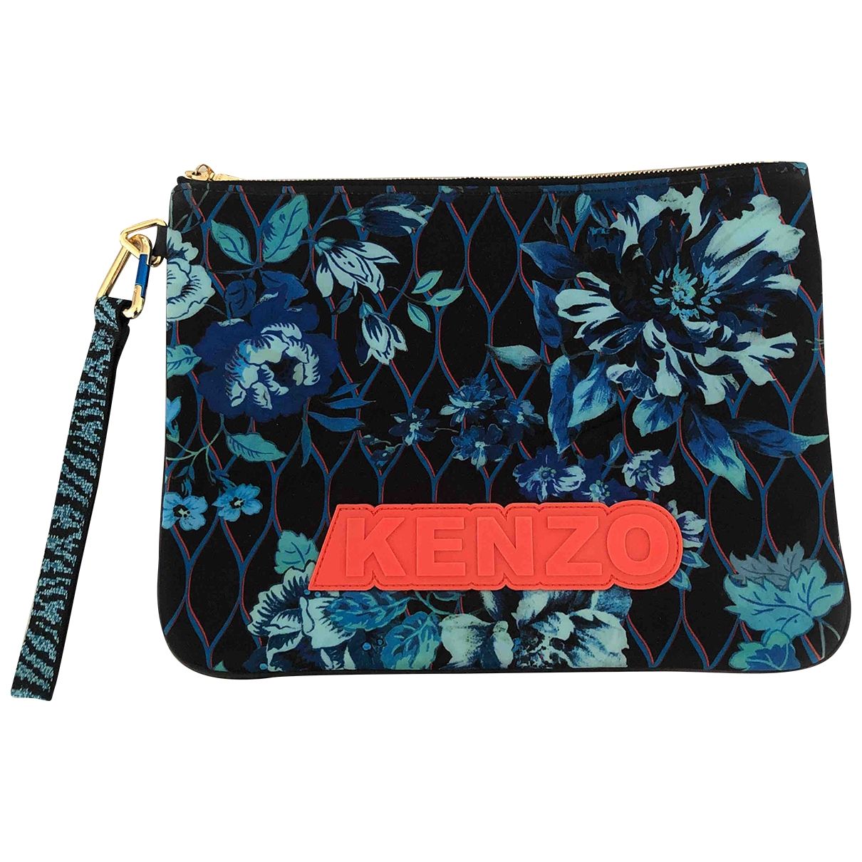 Kenzo X H&m \N Clutch in  Bunt Polyester