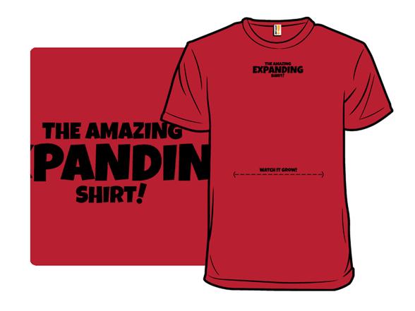 The Amazing Expanding Shirt T Shirt