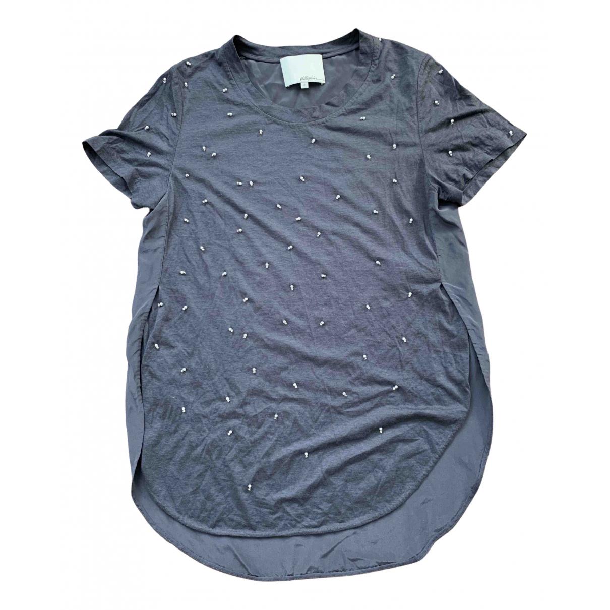 3.1 Phillip Lim - Top   pour femme en soie - gris