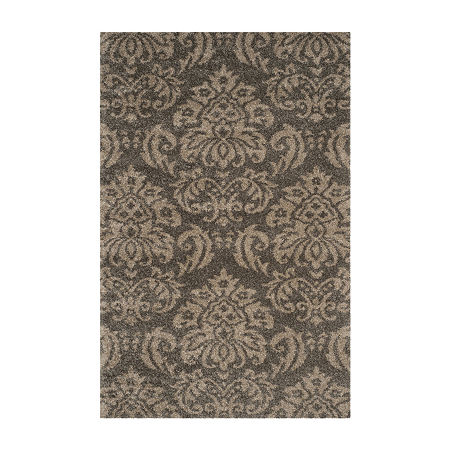 Safavieh Shag Collection Mario Damask Area Rug, One Size , Multiple Colors