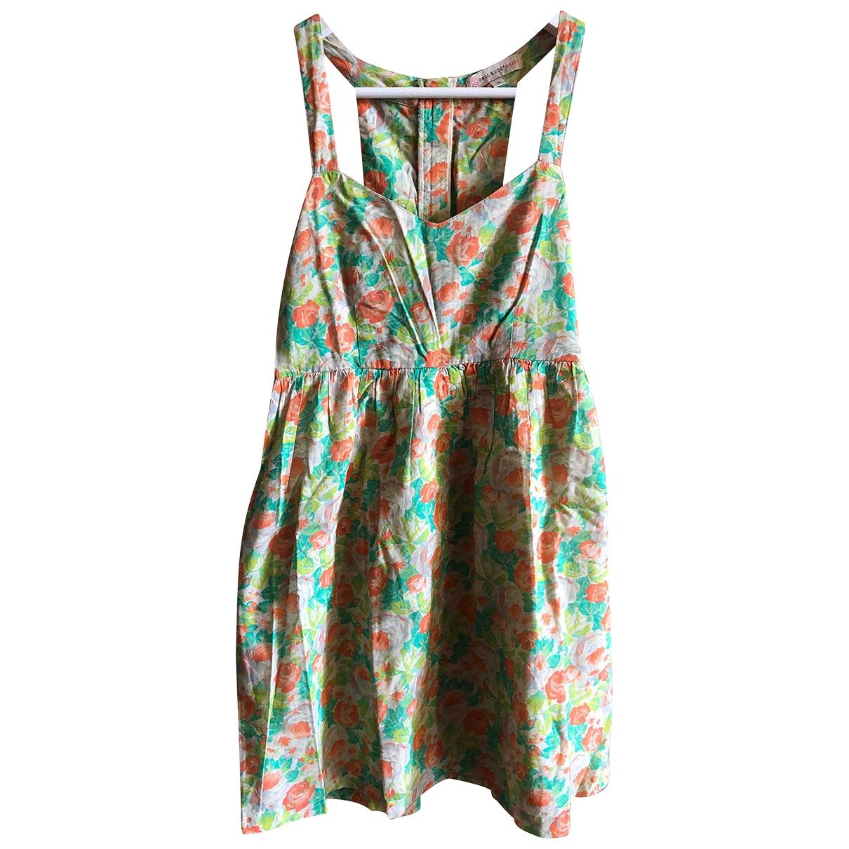 Paul & Joe Sister \N Multicolour Cotton dress for Women 36 FR
