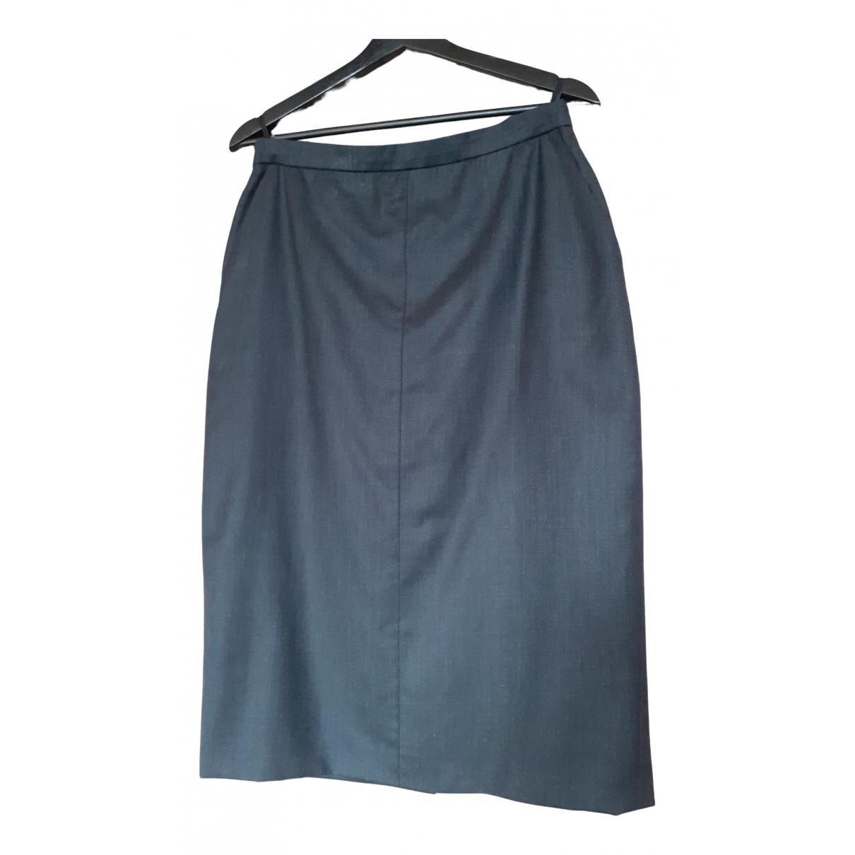 Escada - Jupe   pour femme en laine - anthracite
