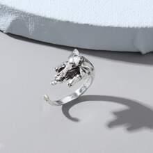 Ring mit Elefant Design