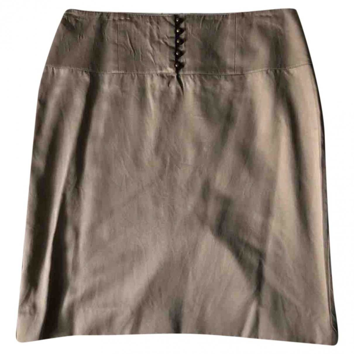Dior - Jupe   pour femme en soie - kaki