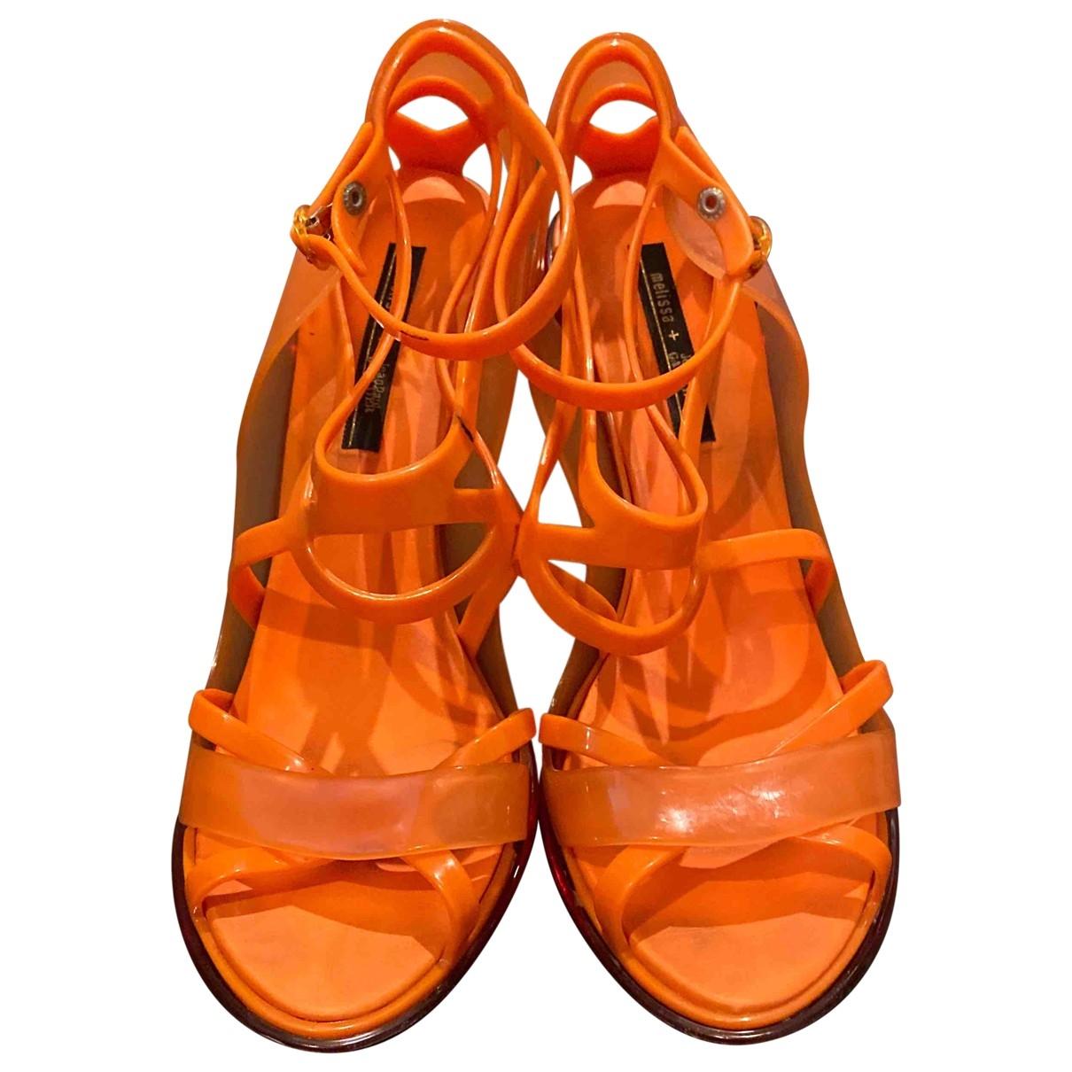Melissa - Sandales   pour femme - orange