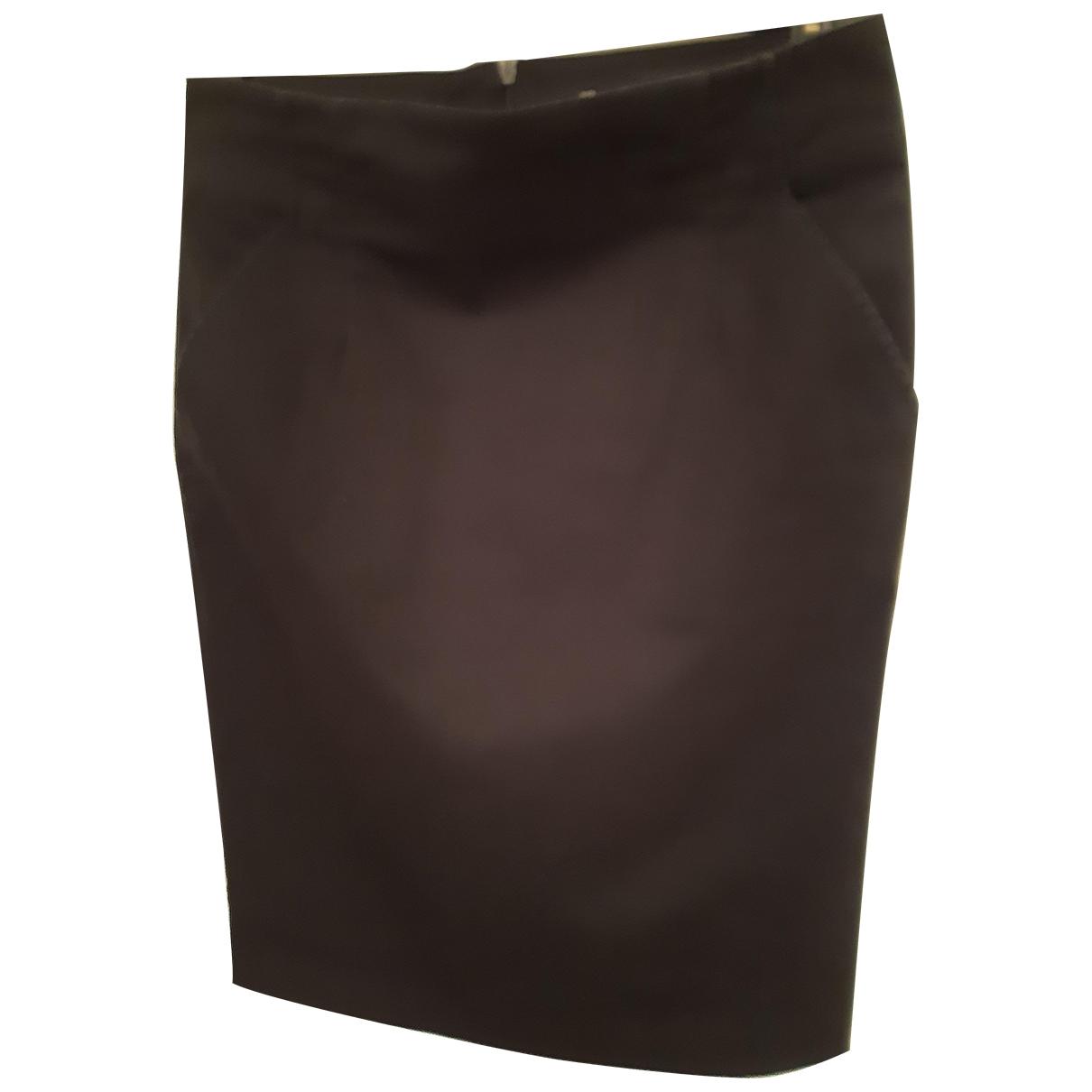 Pinko \N Black Cotton skirt for Women 40 IT