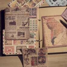 10sheets Random Vintage Pattern Sticker