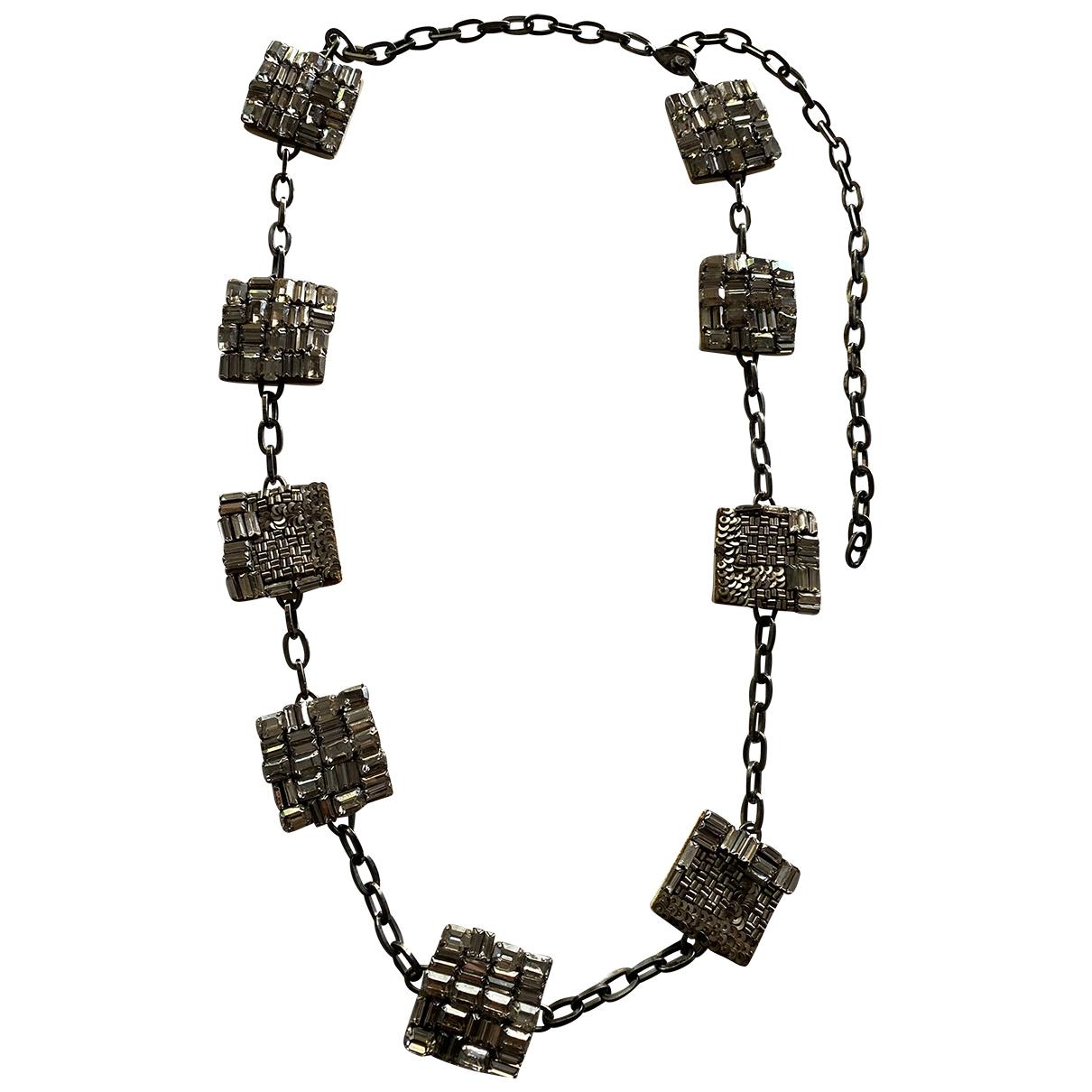 Max Mara \N Halskette in  Silber Kristall