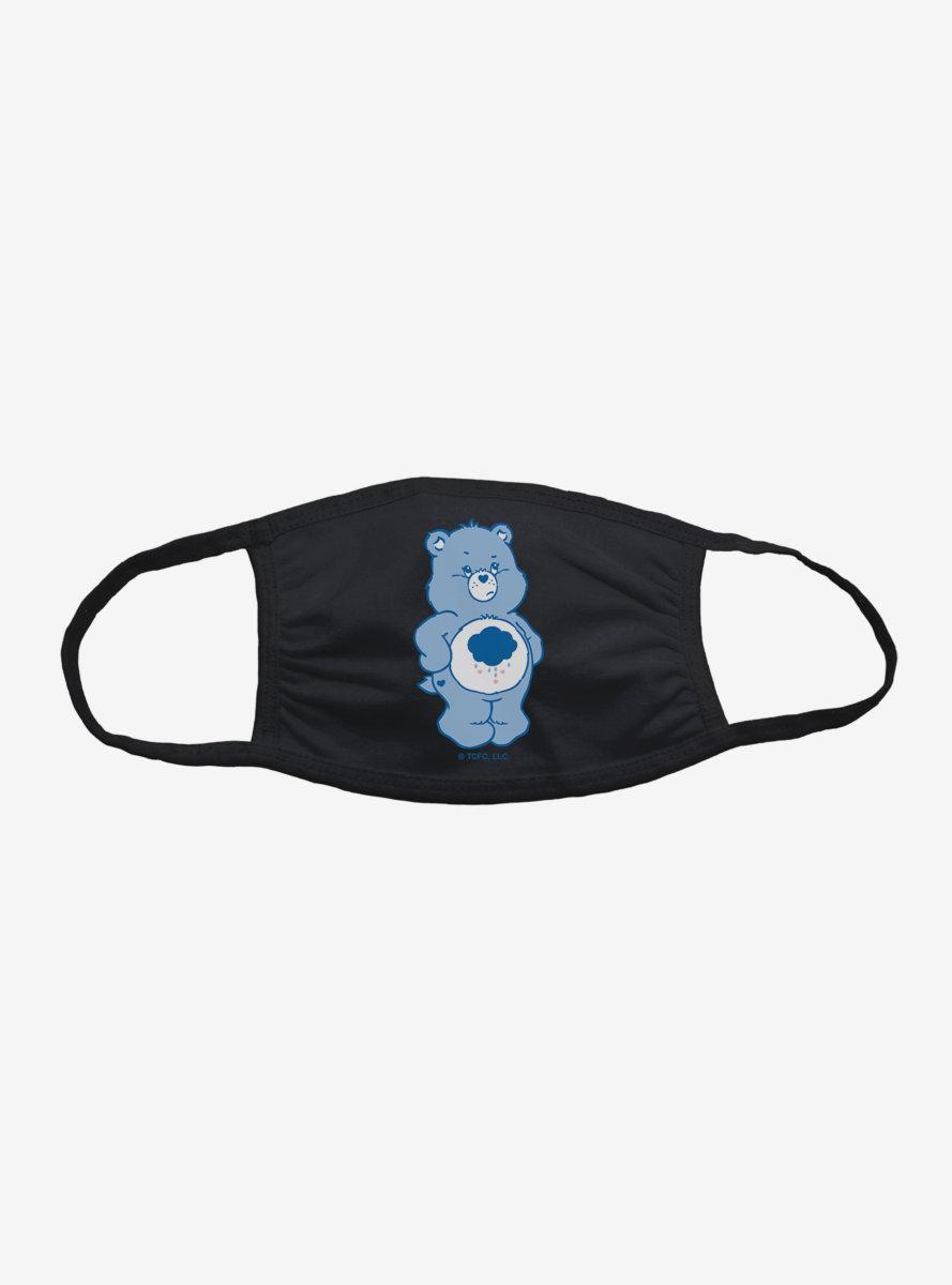 Care Bears Grumpy Bear Don't Care Face Mask