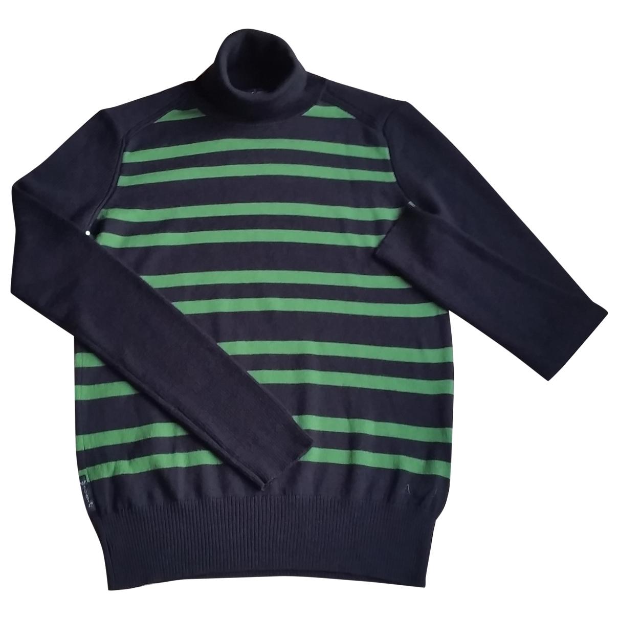 Armani Jean - Pull   pour femme en laine - noir