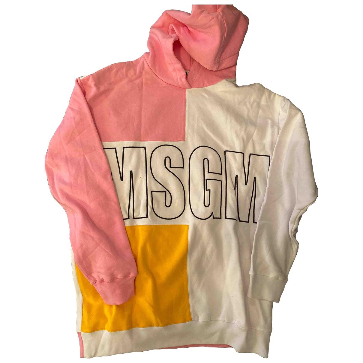 Msgm - Top   pour femme en coton