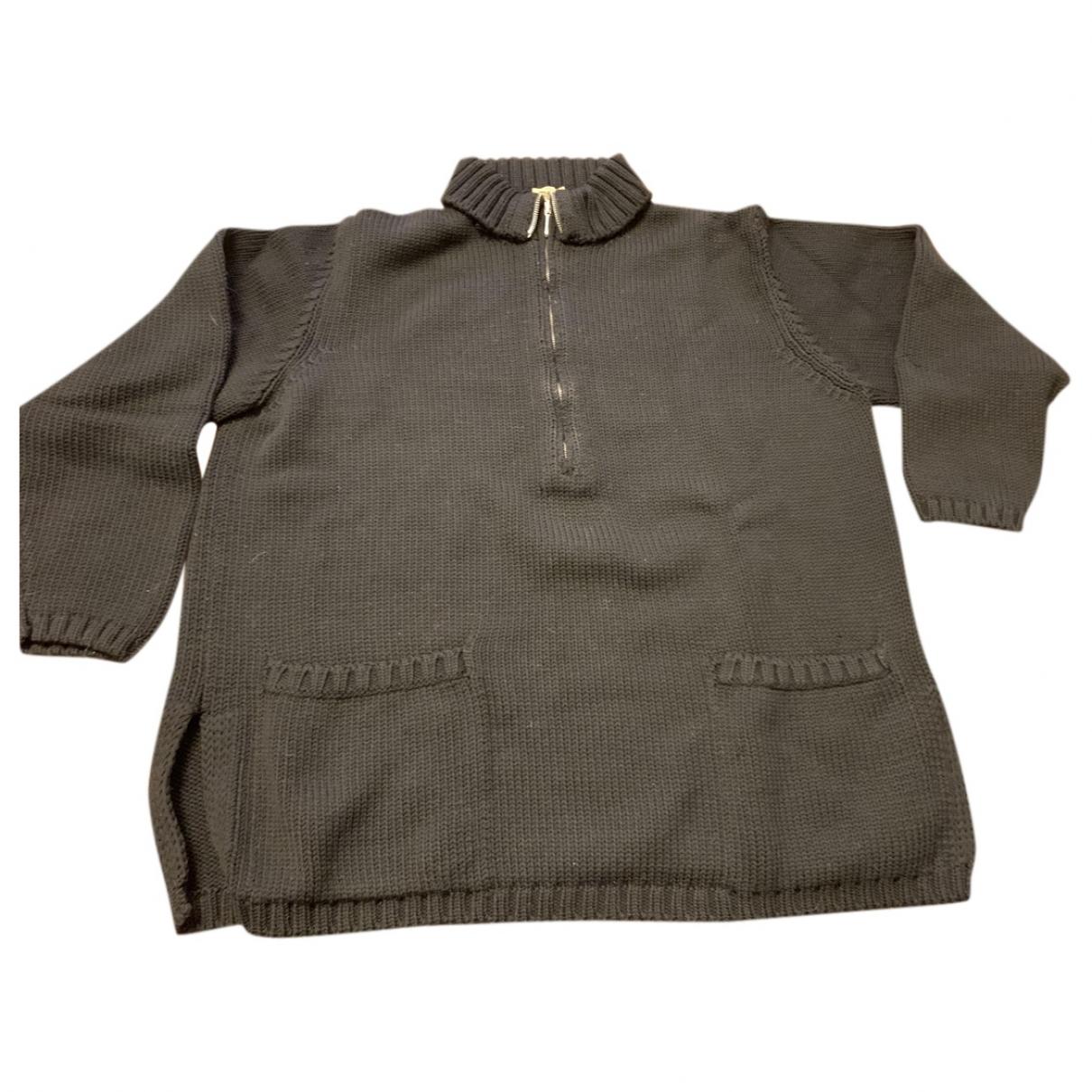 Malo \N Black Wool Knitwear for Women 44 IT