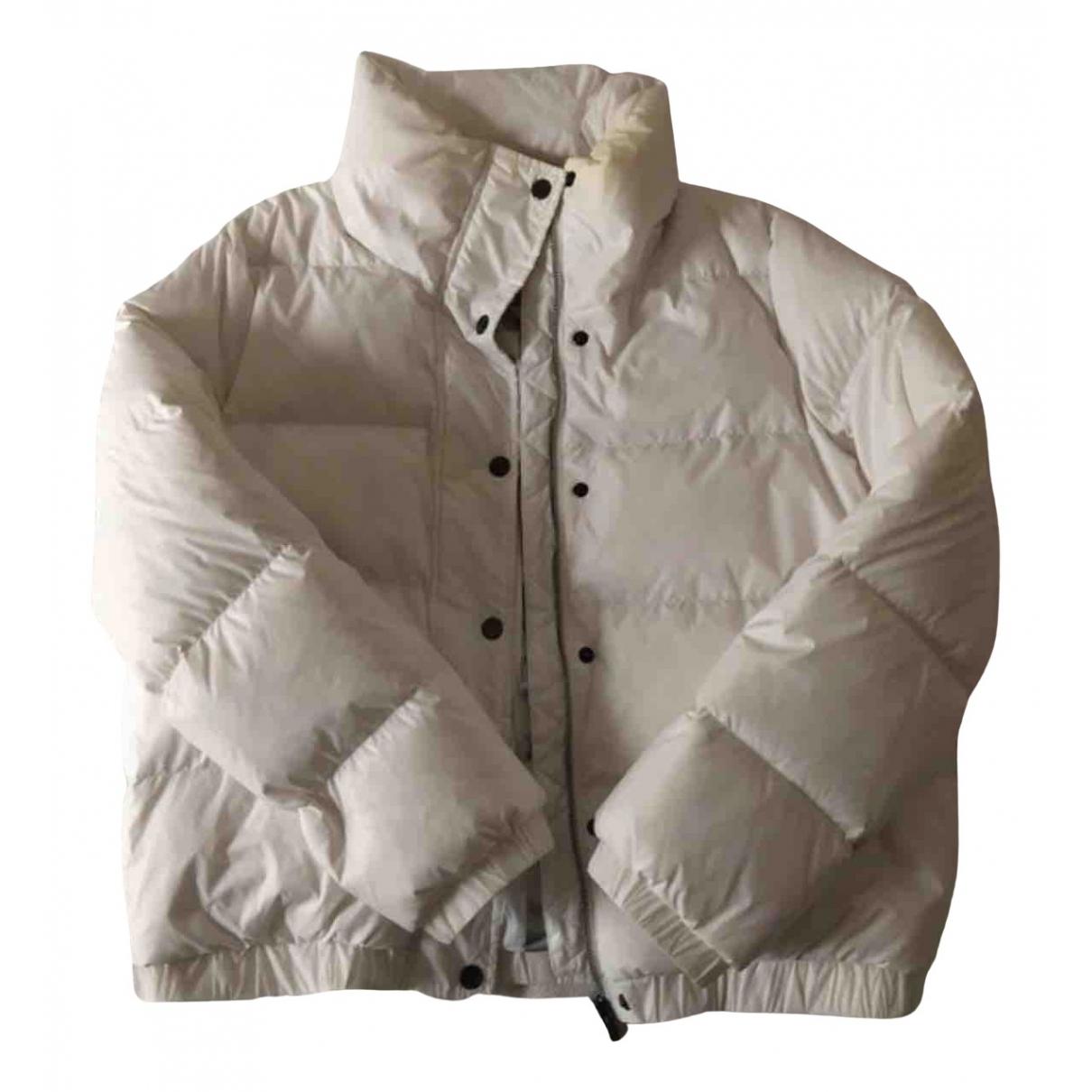 Dkny - Manteau   pour femme - blanc