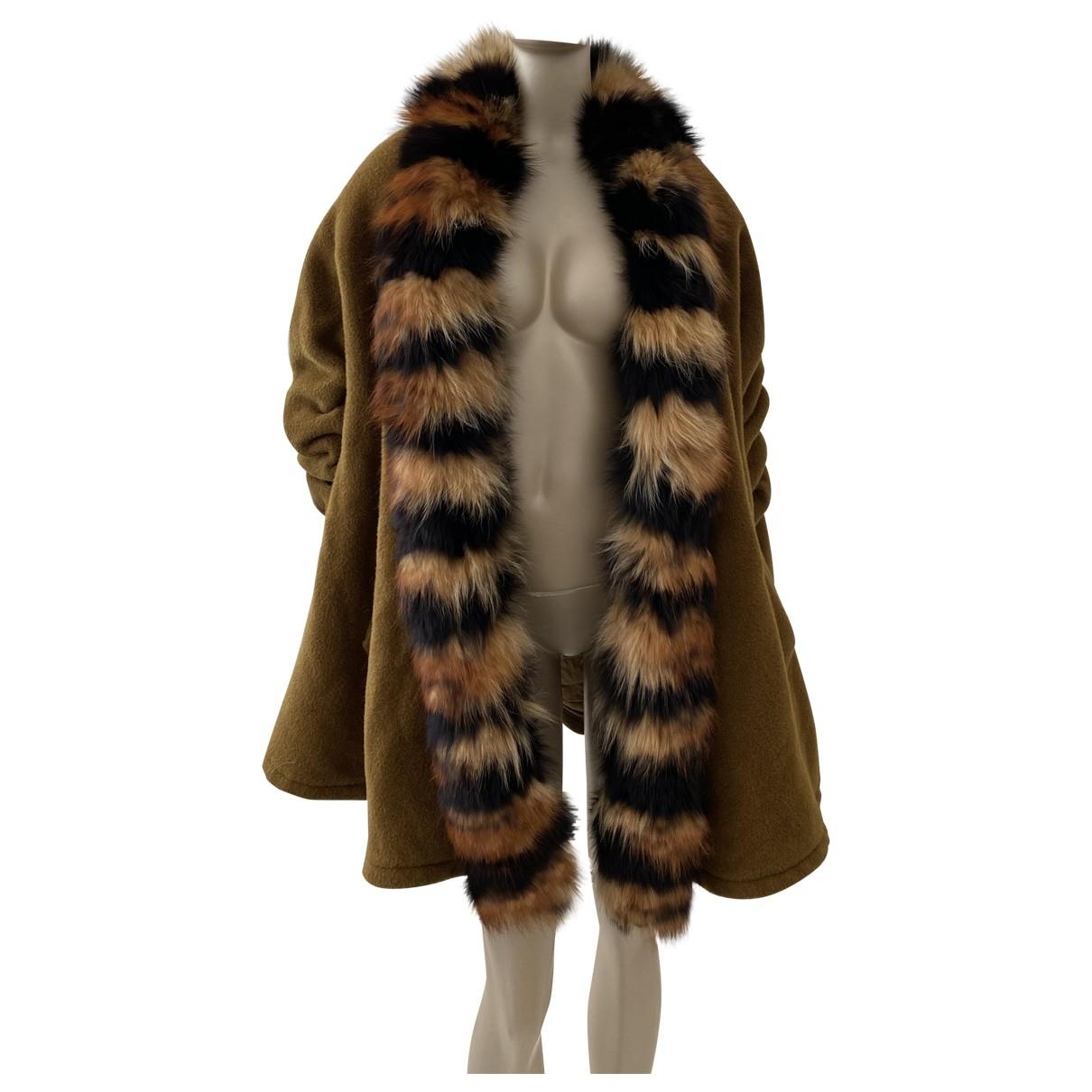 Gianfranco Ferré \N Khaki Wool jacket for Women 40 IT