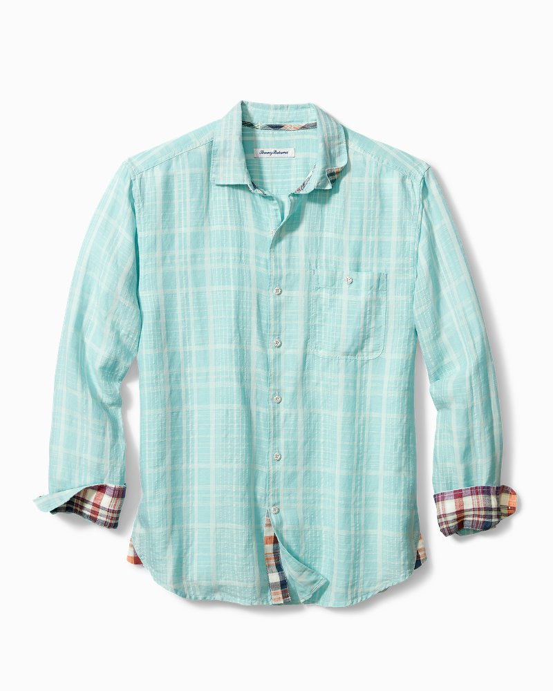 Big & Tall Sand Linen Dunes Shirt