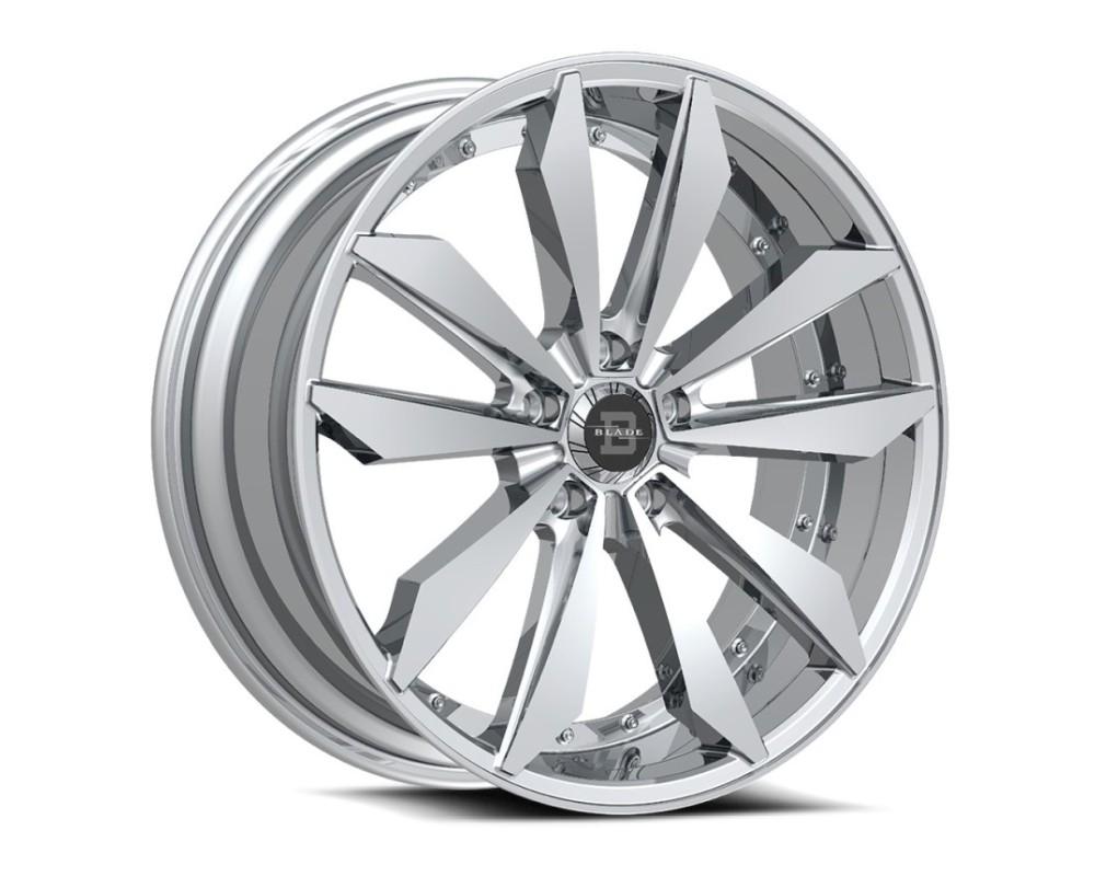 Blade BRVT-460 Scar Wheel 22x9 5x112 35mm Chrome