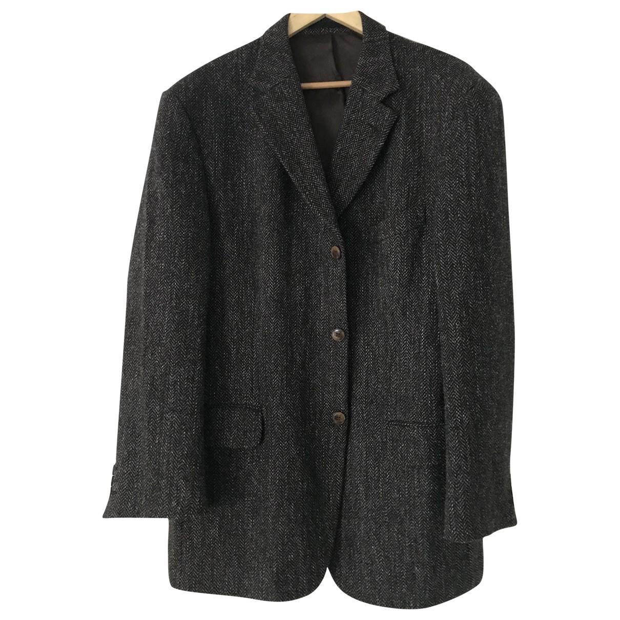 Courreges - Vestes.Blousons   pour homme en laine - marron