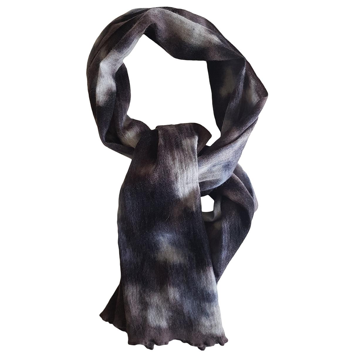 Dior - Foulard   pour femme en laine - gris