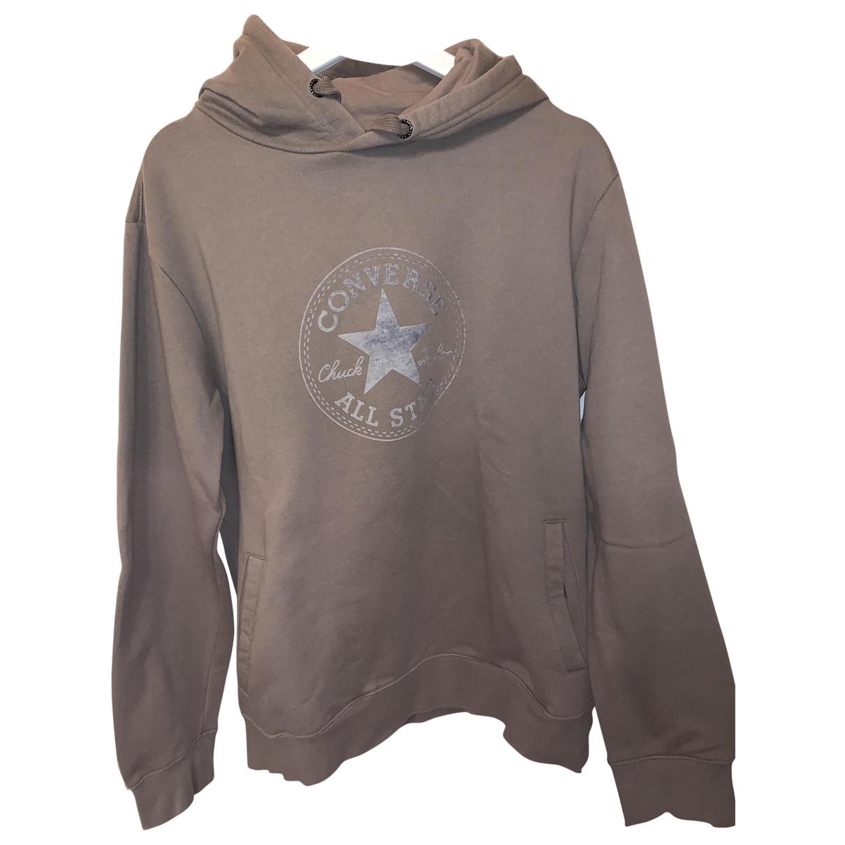 Converse \N Pullover.Westen.Sweatshirts  in  Beige Baumwolle