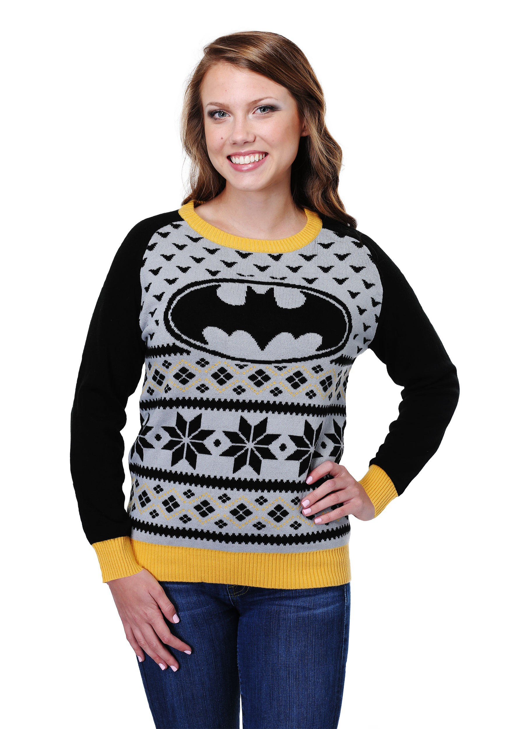 Batman Ugly Christmas Sweater for Women