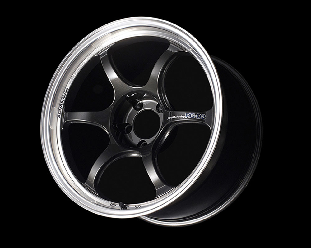 Advan RG-D2 Wheel 17x8.5 5x114.3 31mm Machining & Black Gunmetallic