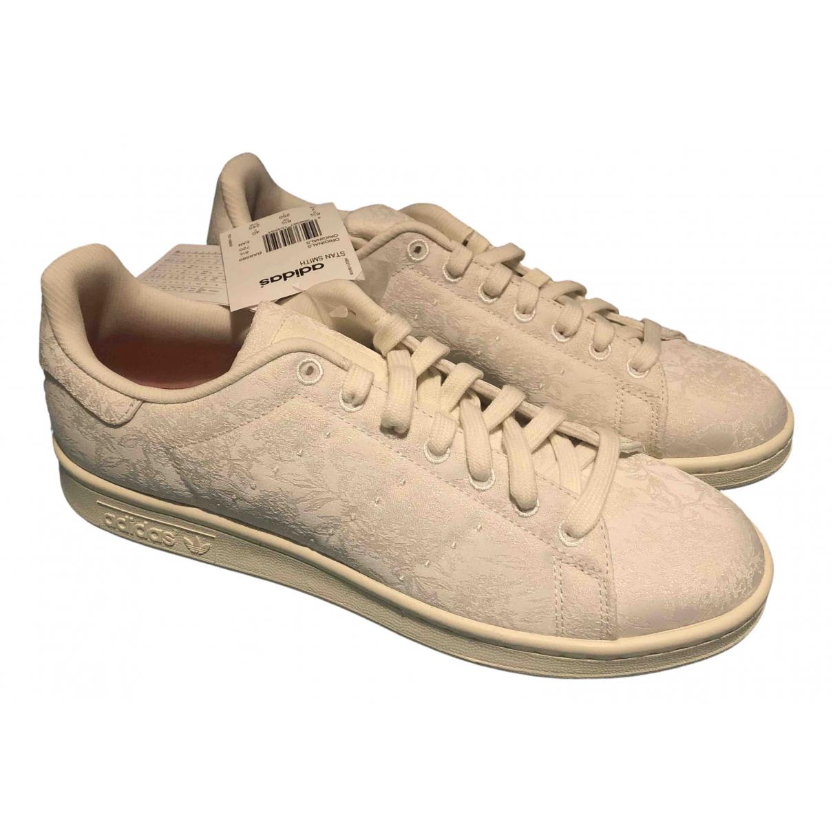 Adidas - Baskets Stan Smith pour femme en toile - blanc