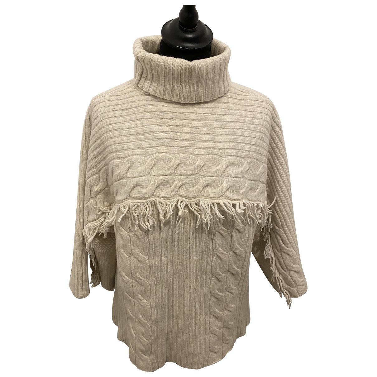 Max & Co N Beige Wool Knitwear for Women L International