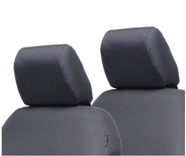 Bartact JLHR2018R2G Baseline Performance Rear Bench Headrest Seat Cover Graphite for Jeep Wrangler JL 2018-2020