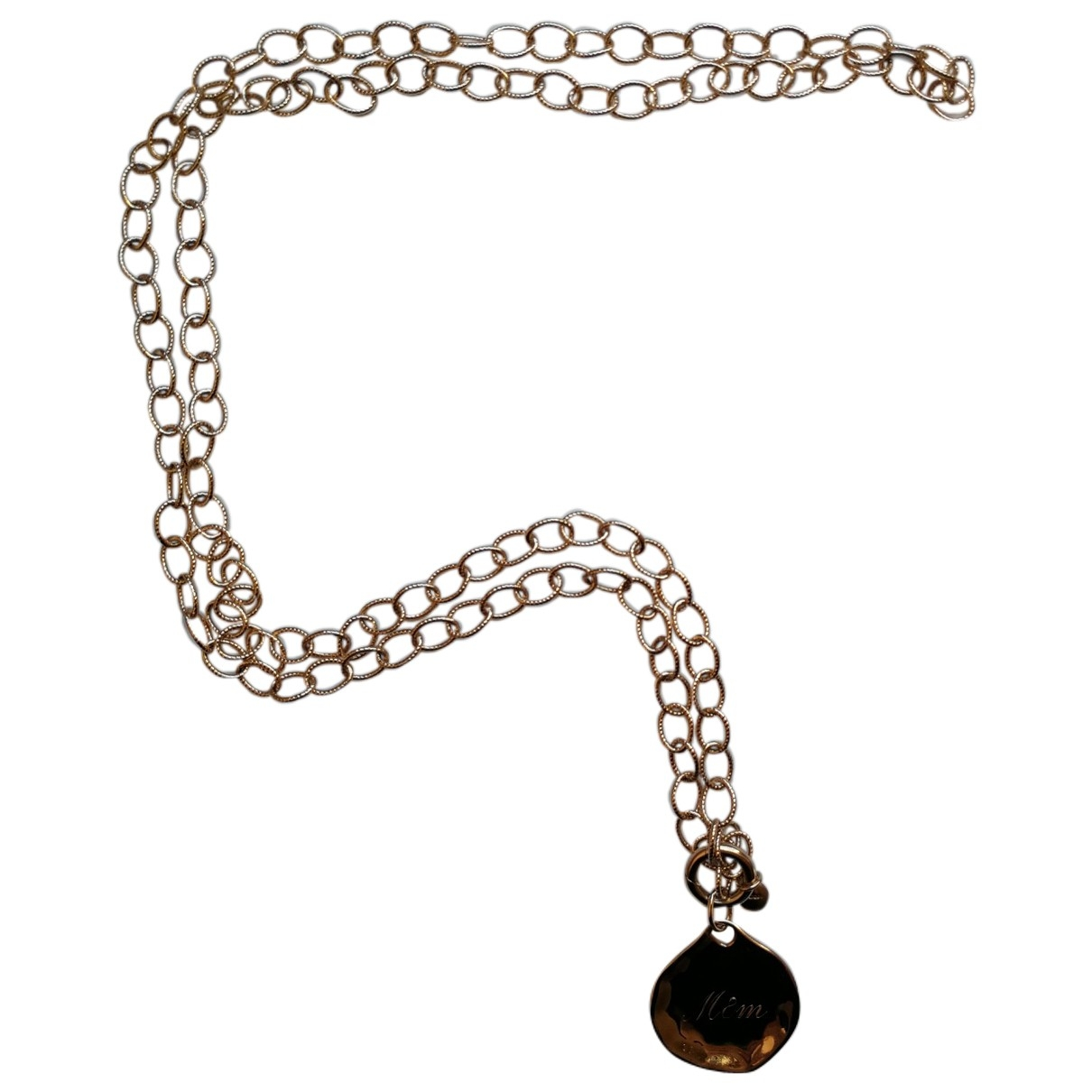 Monica Vinader \N Gold plated necklace for Women \N