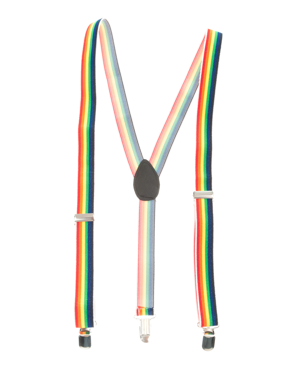 Kostuemzubehor Hosentraeger Regenbogen Farbe: multicolor bzw. bunt