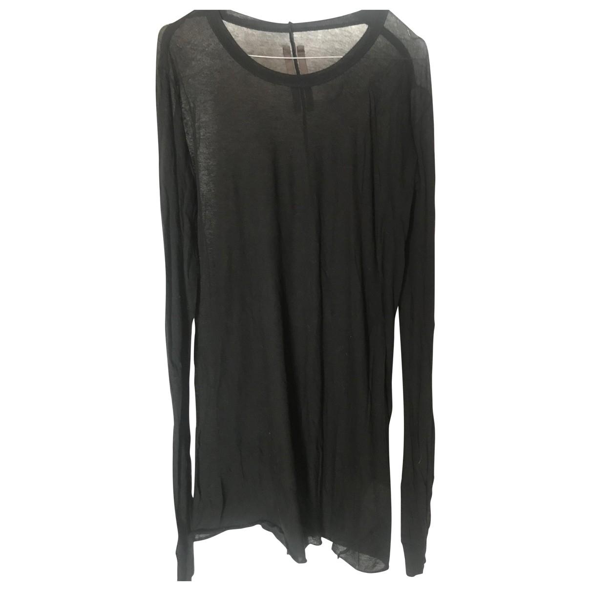 Rick Owens \N T-Shirts in  Schwarz Baumwolle