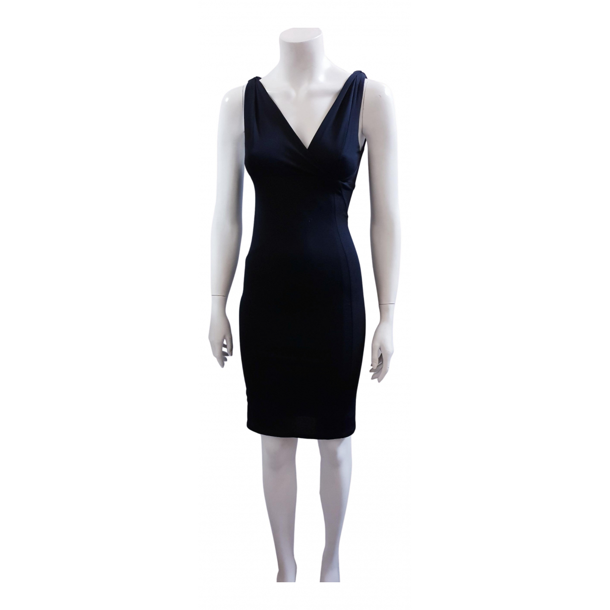 Narciso Rodriguez \N Kleid in  Schwarz Synthetik