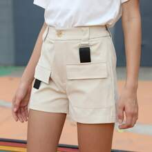 Flap Pocket Utility Shorts