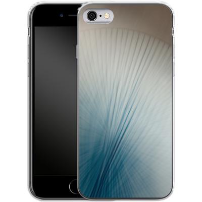 Apple iPhone 6 Silikon Handyhuelle - Blue Lines 2 von Joy StClaire