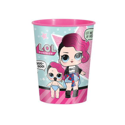 L.O.L.Surprise 1 16 oz. Plastic Cup For Birthday Party