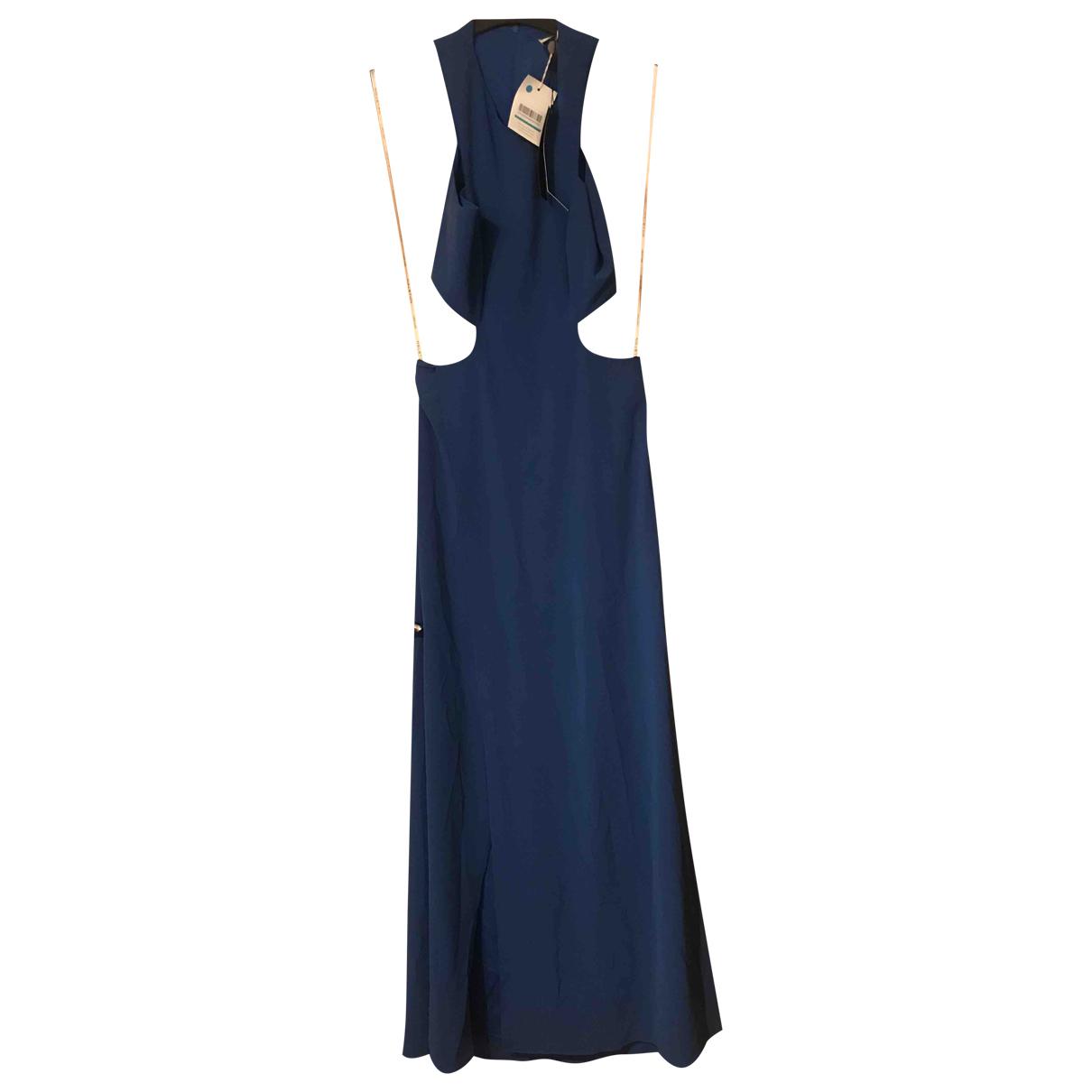 Halston Heritage N Blue dress for Women 4 US