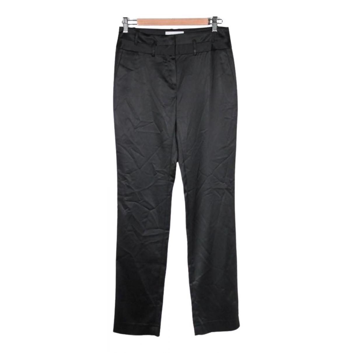 Pantalon en Sintetico Negro Cacharel