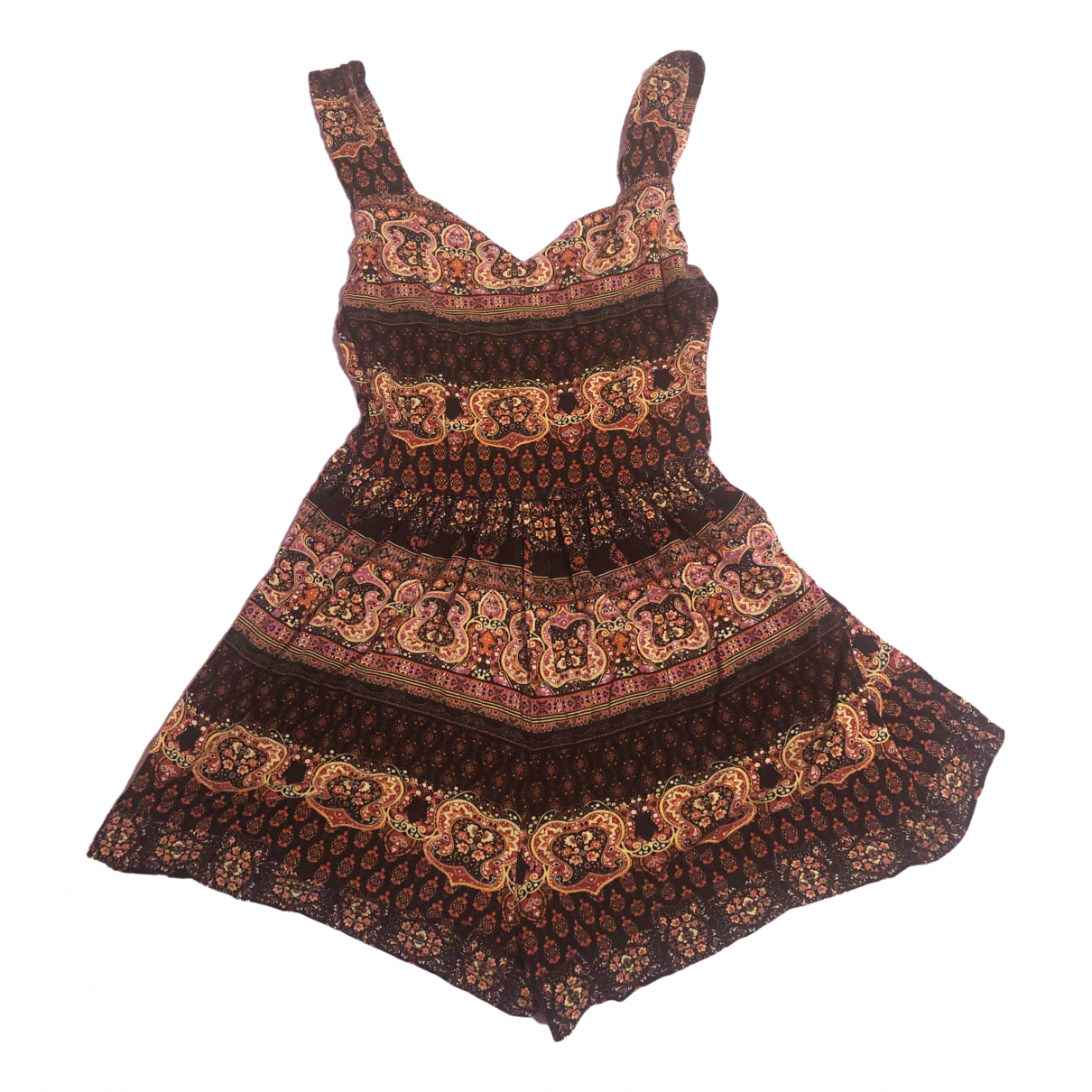 Asos - Combinaison   pour femme en coton - marron