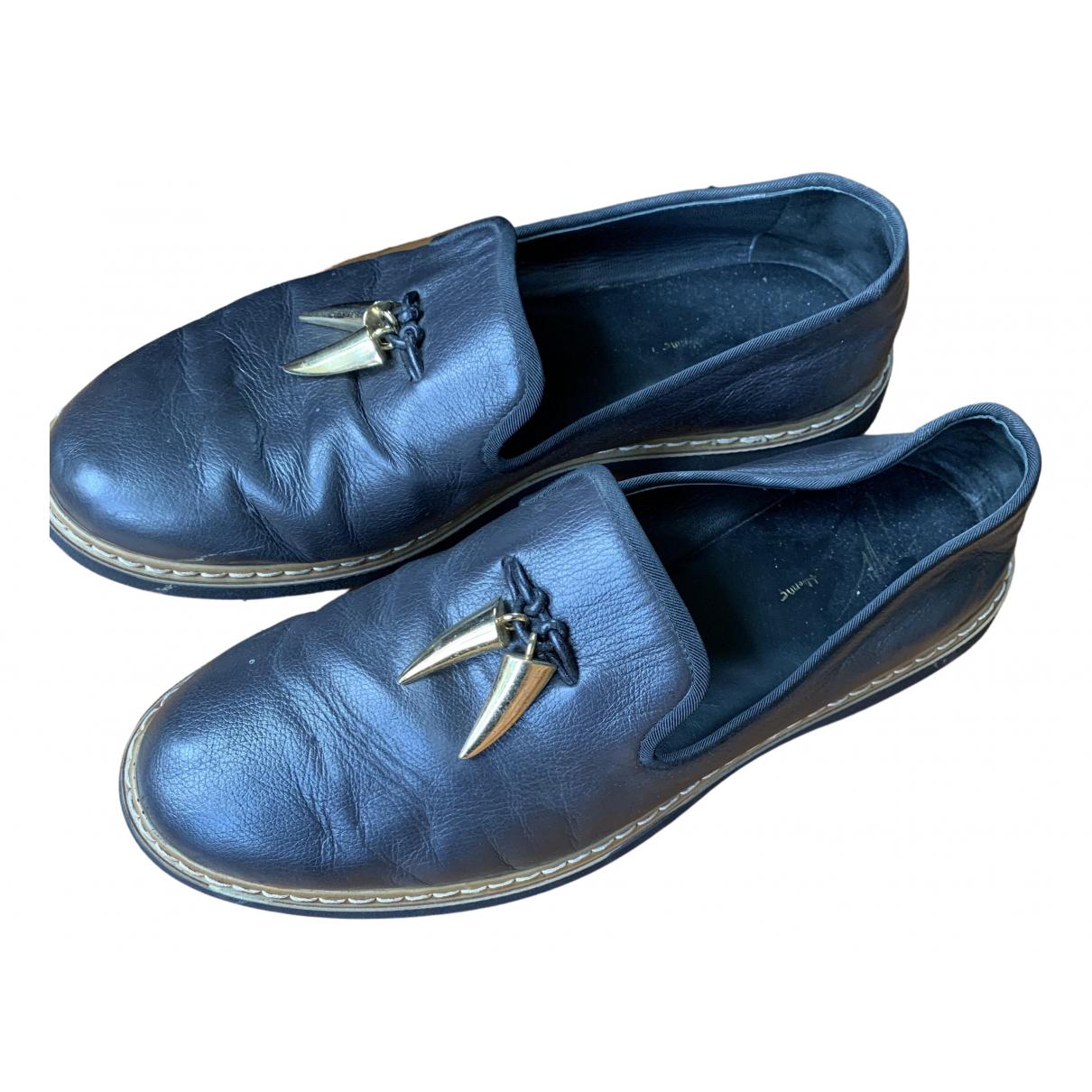 Giuseppe Zanotti \N Brown Leather Flats for Men 8 UK