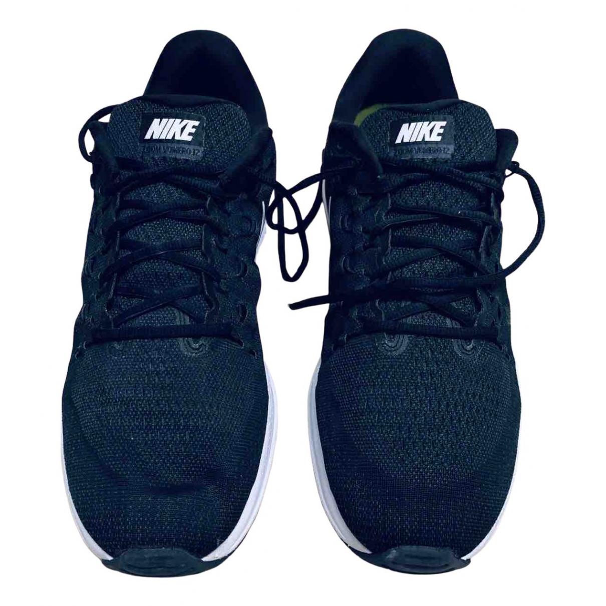 Nike Zoom Sneakers in  Schwarz Leinen