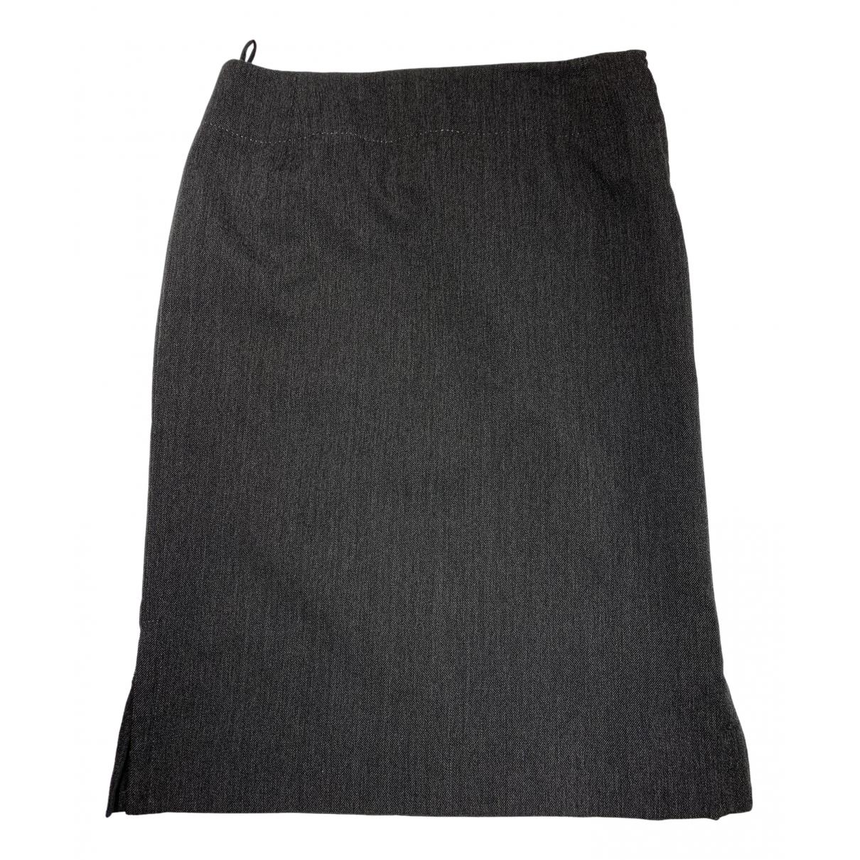 Louis Vuitton - Jupe   pour femme en laine - anthracite