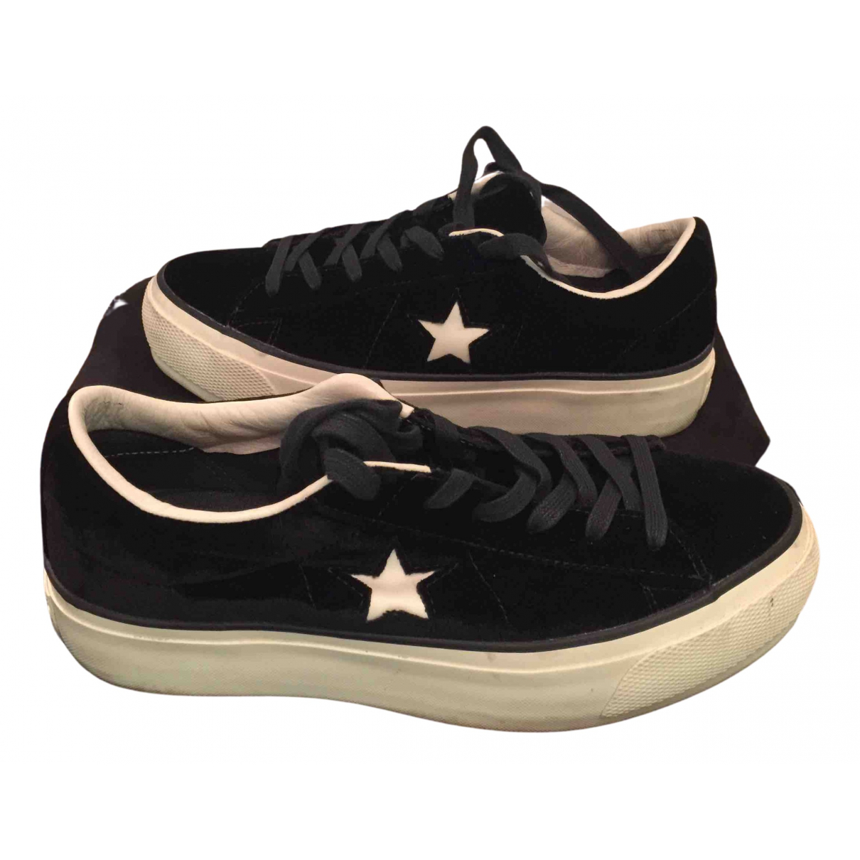 Adidas \N Sneakers in  Schwarz Samt