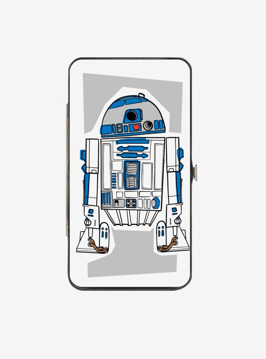 Star Wars R2 D2 Hinged Wallet